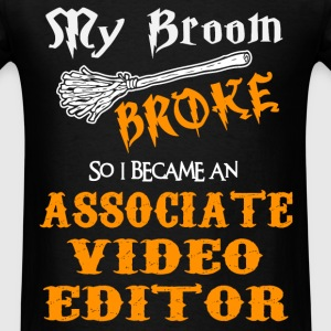 Associate Video Editor - Men's T-Shirt