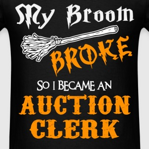 Auction Clerk - Men's T-Shirt