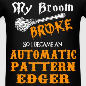 Automatic Pattern Edger - Men's T-Shirt