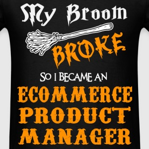 Ecommerce Product Manager - Men's T-Shirt