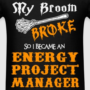 Energy Project Manager - Men's T-Shirt