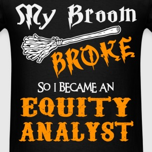 Equity Analyst - Men's T-Shirt