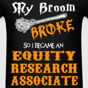 Equity Research Associate - Men's T-Shirt