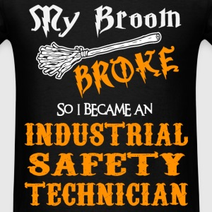 Industrial Safety Technician T-Shirts - Men's T-Shirt