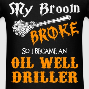 Oil Well Driller T-Shirts - Men's T-Shirt