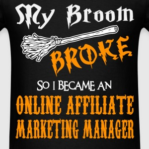 Online Affiliate Marketing Manager T-Shirts - Men's T-Shirt