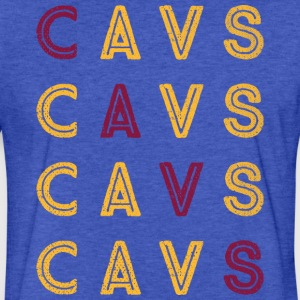 CAVS Step Repeat - Fitted Cotton/Poly T-Shirt by Next Level