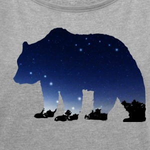 The Great Bear T-Shirts - Women's Roll Cuff T-Shirt