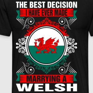 Marrying A Welsh T-Shirts - Men's Premium T-Shirt