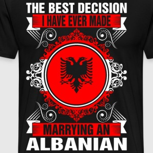 Marrying An Albanian T-Shirts - Men's Premium T-Shirt