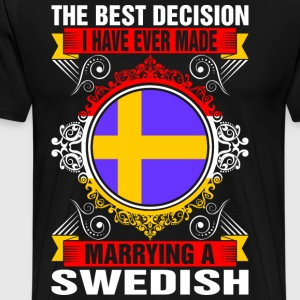 Marrying A Swedish T-Shirts - Men's Premium T-Shirt
