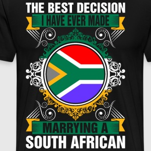 Marrying A South African T-Shirts - Men's Premium T-Shirt