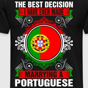 Marrying A Portuguese T-Shirts - Men's Premium T-Shirt