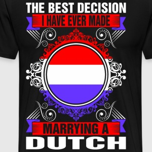 Marrying A Dutch T-Shirts - Men's Premium T-Shirt