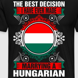 Marrying A Hungarian T-Shirts - Men's Premium T-Shirt