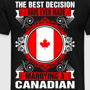 Marrying A Canadian T-Shirts - Men's Premium T-Shirt