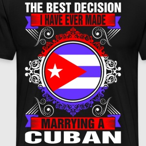 Marrying A Cuban T-Shirts - Men's Premium T-Shirt