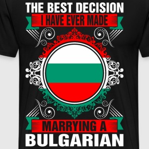 Marrying A Bulgarian T-Shirts - Men's Premium T-Shirt