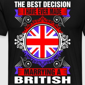 Marrying A British T-Shirts - Men's Premium T-Shirt
