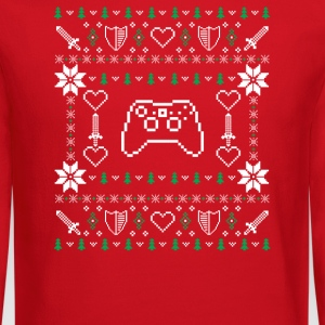 Gamer ugly Christmas sweater  - Crewneck Sweatshirt