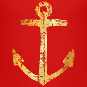 Anchor (Ancient Gold) Kids' Shirts - Kids' Premium T-Shirt