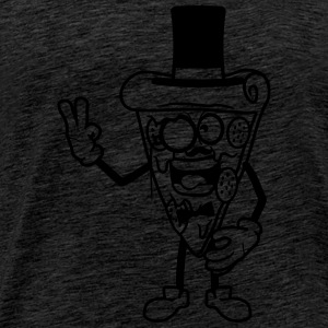 mascot sir mr gentlemen rich monocle glasses hat m T-Shirts - Men's Premium T-Shirt