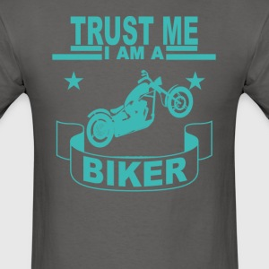 motorcycles_tshirt__i_am_biker_ - Men's T-Shirt