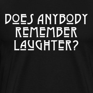 LAUGHTER - WHITE - Men's Premium T-Shirt