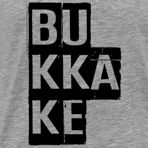Bukkake, Provocative, Porn, Cumshot, Dirty, NSFW T-Shirts - Men's Premium T-Shirt