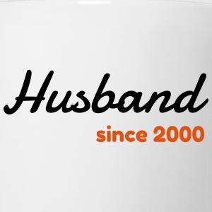 Marriage Wedding Love Mariage Husband Since 2000 Mugs & Drinkware - Coffee/Tea Mug