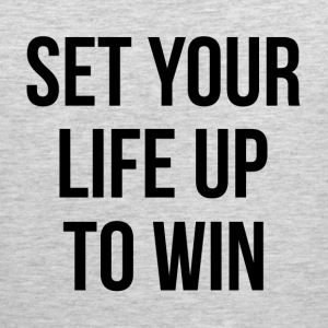 SET YOUR LIFE UP TO WIN Sportswear - Men's Premium Tank