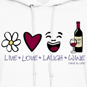 Live Love Laugh - Women's Hoodie