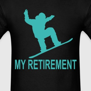 ski_retirement_plan_tshirt_ - Men's T-Shirt
