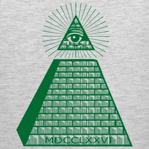 Eye Of Providence Green Sportswear - Men's Premium Tank
