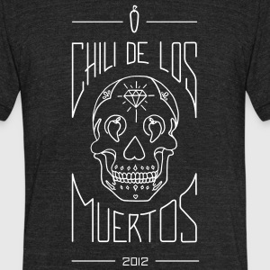 Chili De Los Muertos - Unisex Tri-Blend T-Shirt by American Apparel