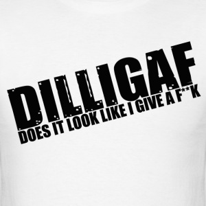 Dilligaf - Men's T-Shirt