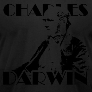 Charles Darwin - Men's T-Shirt by American Apparel