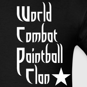 World Combat Paintball clan shirt - Men's T-Shirt