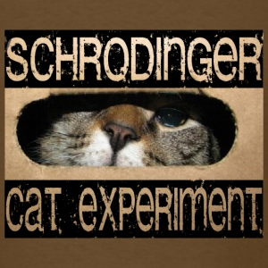 Schrodingers' Cat - Men's T-Shirt