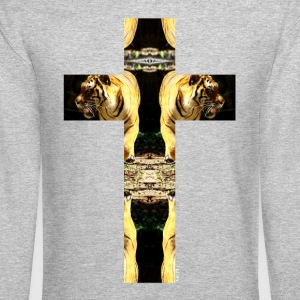 TIGER CRUCIFIX - T-Shirt - Crewneck Sweatshirt