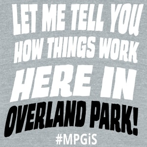 Most Popular Girls Here in Orlando Park T-Shirts - Unisex Tri-Blend T-Shirt by American Apparel