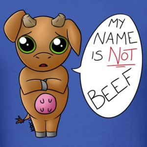 My Name is Not Beef - Men's T-Shirt