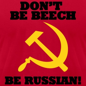 FPS Russia Don't be Beech MP T-Shirts - Men's T-Shirt by American Apparel