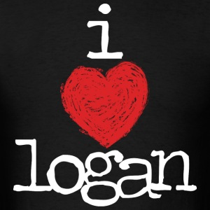 Logan Henderson I Heart Logan MP  T-Shirts - Men's T-Shirt