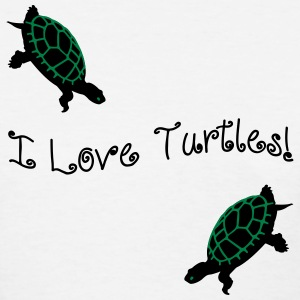 I Love Turtles! Kim Richards mp Women's T-Shirts - Women's T-Shirt