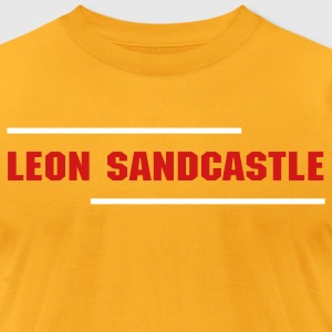 Leon Sandcastle - Men's T-Shirt by American Apparel