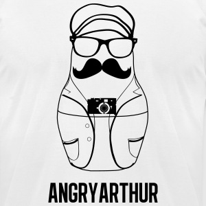 Angry Arthur - Men's T-Shirt by American Apparel