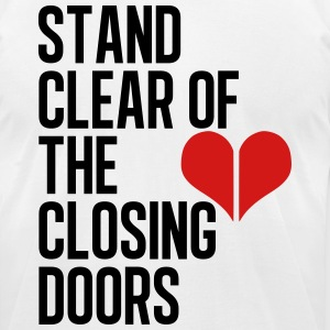Closing doors - Men's T-Shirt by American Apparel