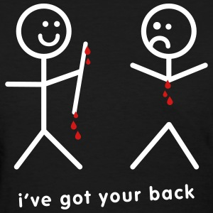 I've Got Your Back - The Horror - Women's T-Shirt