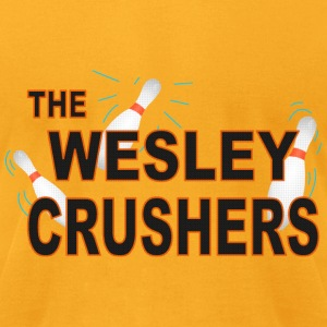the Wesley Crushers - Men's T-Shirt by American Apparel